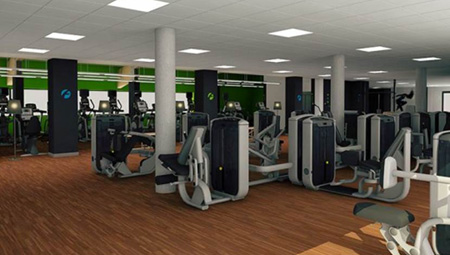 El nuevo gimnasio forus segovia abrir este oto o cmd sport for Gimnasio forus