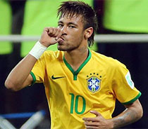 Brasil y la camiseta de Neymar, lo más vendido del Mundial hasta el momento