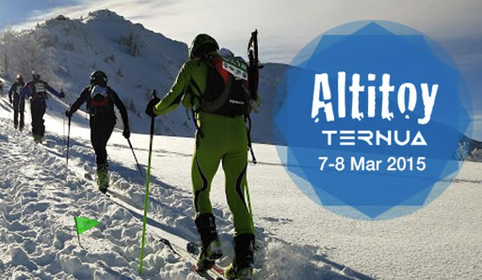 VIII Carrera de Esquí de Montaña de los Pirineos, Altitoy-Ternua