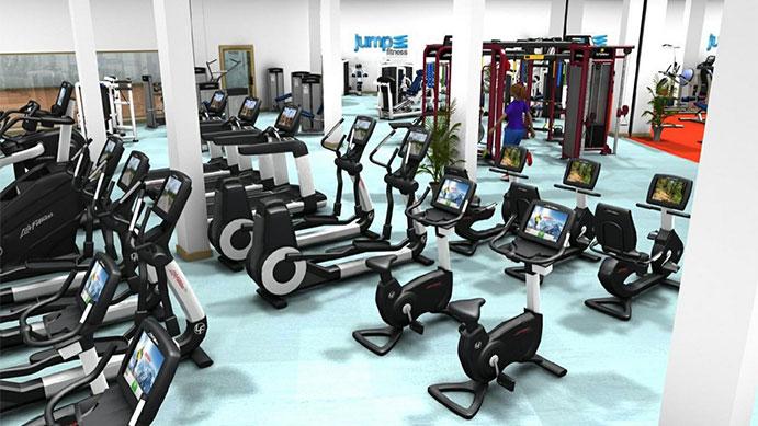 se inaugura el gimnasio m s grande y digitalizado de lugo