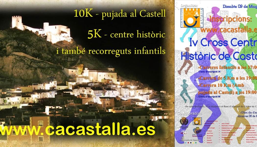 IV CROSS 10K & 5K CENTRO HISTÓRICO CASTALLA