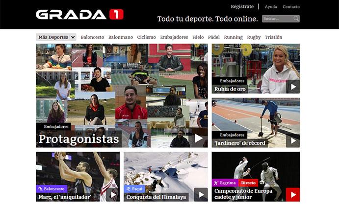 Nace Grada1, la televisión digital de los deportes emergentes