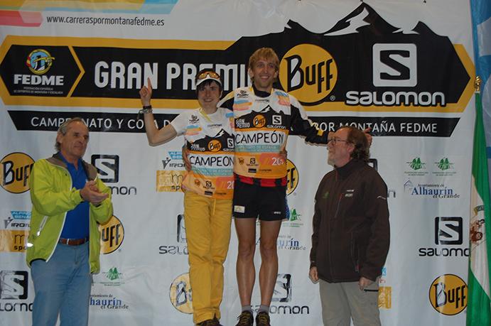 Pere Rullán y Maite Maiora, campeones España de Carreras por Montaña