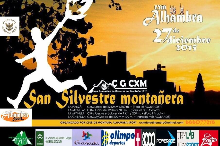 Carrera por Montaña de la Alhambra