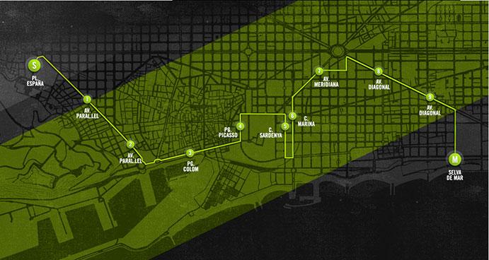 Nike reinventa la Cursa Bombers de Barcelona