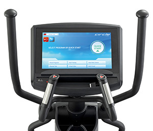 circle fitness EP-7A00-console