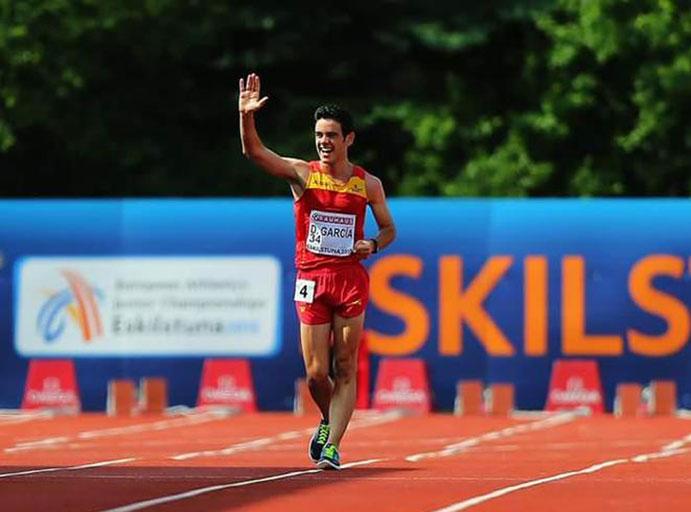 Diego García, nuevo campeón de Europa Junior en 10.000 marcha