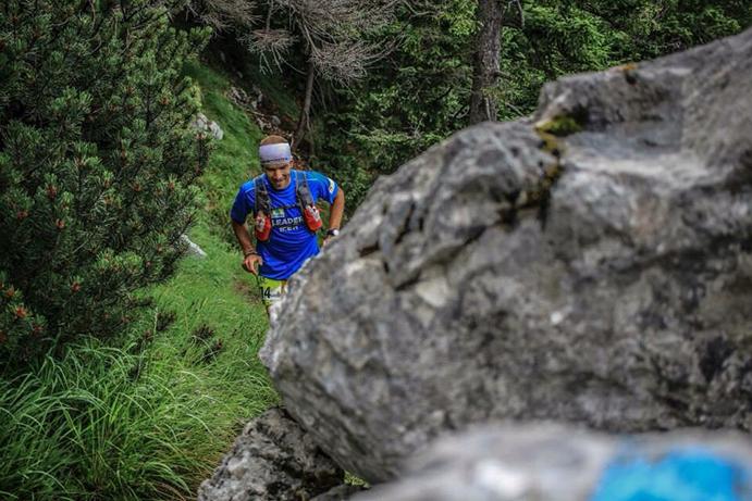 Miguel Caballero deslumbra en la 4 Trails