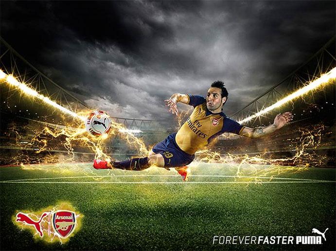 Puma presenta la segunda camiseta del Arsenal para la nueva temporada