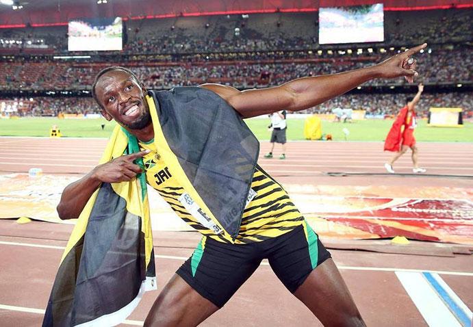 Bolt es ya el atleta con más medallas de oro de la historia
