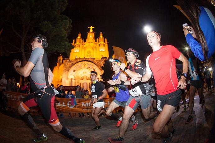 Ragna Debats y Carles Montllor se llevan la Barcelona Midnight Trail
