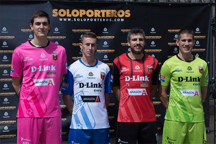 La nueva marca Taconni Sportwear viste al D-Link Zaragoza
