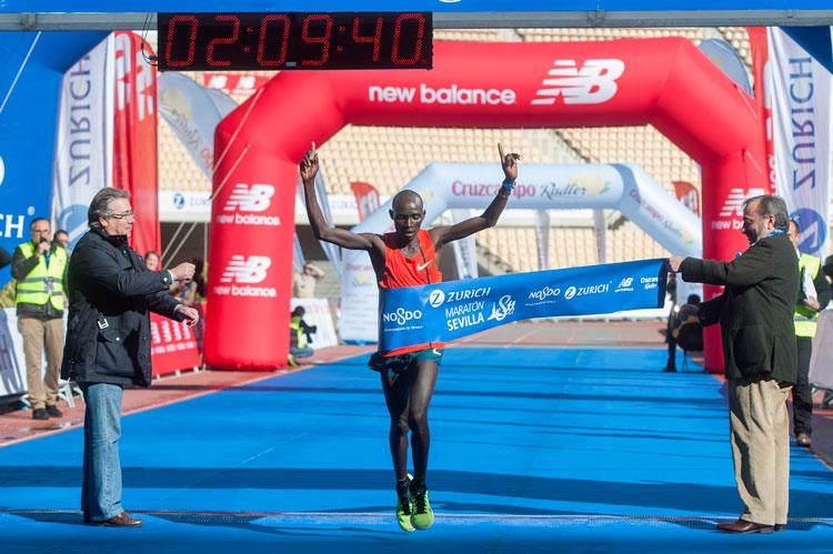New Balance invita a participar en el Maratón de Sevilla