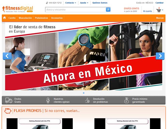 FitnessDigital abre en Méjico su primera tienda fuera de Europa