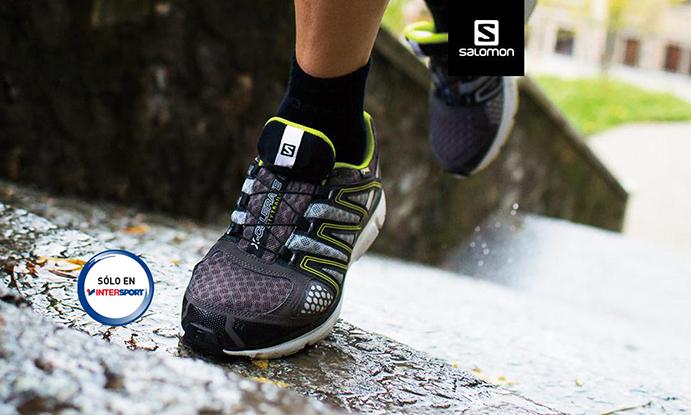 Salomon desarrolla un modelo exclusivo de zapatilla de trail para Intersport