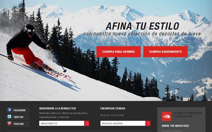 Las marcas de montaña mejor posicionadas en Internet