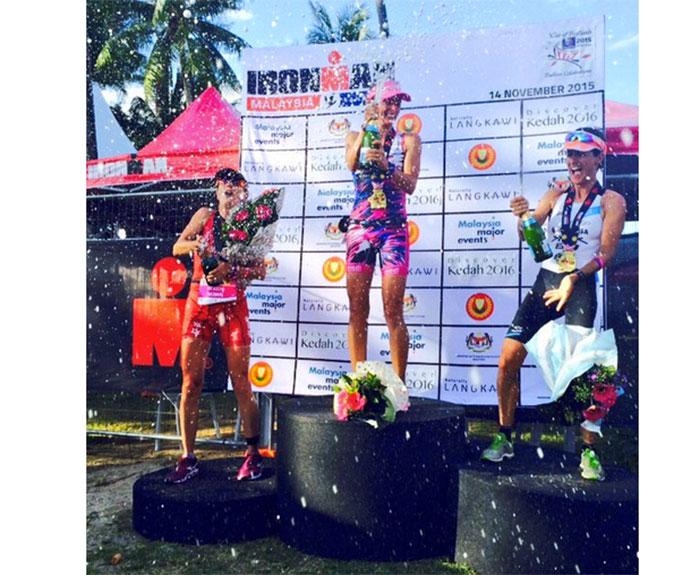 Gurutze Frades consigue la plata en el Ironman de Malaysia