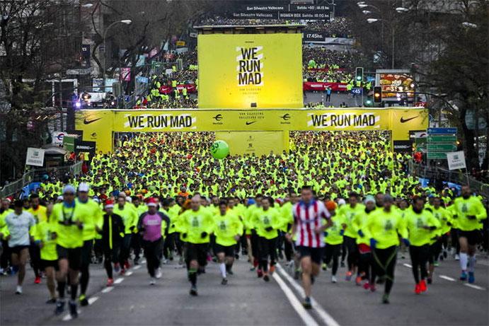 Piden que Nike done parte de lo ganado con los dorsales de la San Silvestre