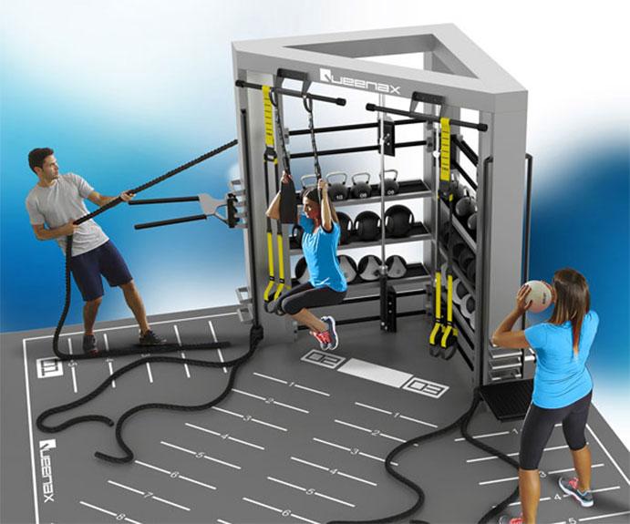 Infinit Fitness introduce el entrenamiento funcional Queenax en sus gimnasios