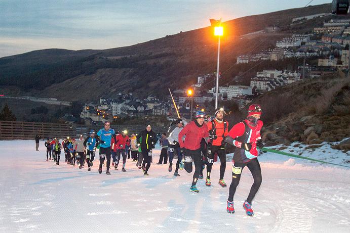 La Ternua Snowrunning de Sierra Nevada reúne a 700 corredores