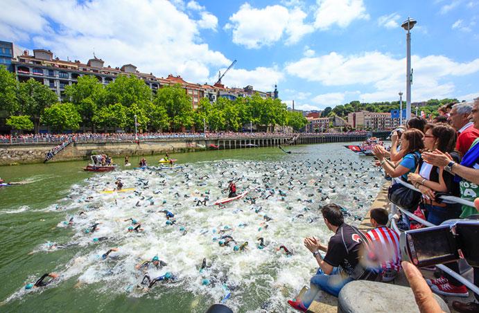 El Bilbao Triathlon 2016 incluirá una prueba de distancia olímpica