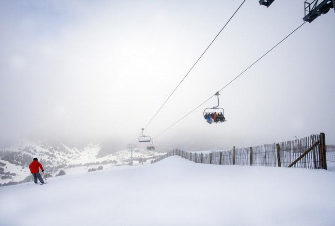 Grandvalira abre todo el dominio esquiable este fin de semana