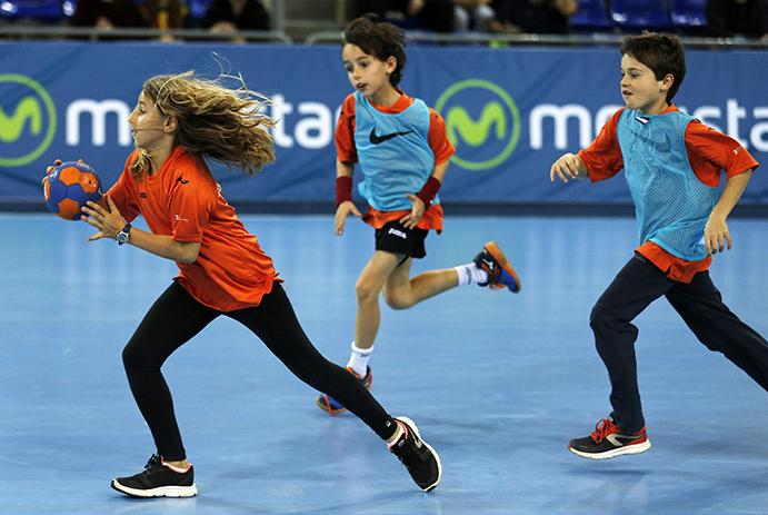 balonmano un deporte recomendable para niños y niñas