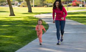 running infantil