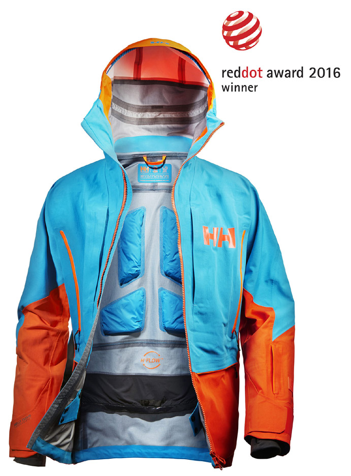 Helly Hansen gana un premio Red Dot Design