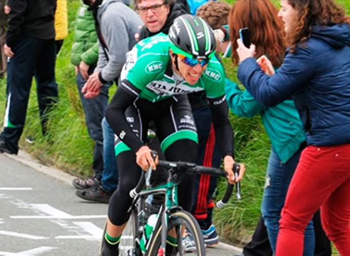 Jonathan Lastra se estrena con victoria en la Vuelta al País Vasco