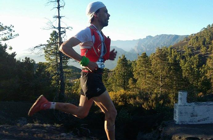 Tòfol Castanyer se proclama campeón de España de Trail en La Palma