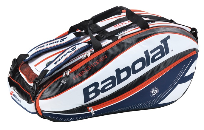 BABOLAT / RACKET HOLDER X12 PURE AERO FRENCH OPEN