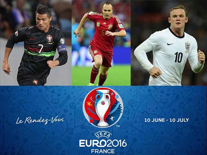 Nike patrocina al 70% de las estrellas de la Eurocopa 2016