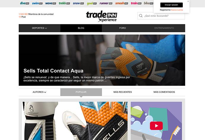 Tradeinn crea una comunidad online para deportistas