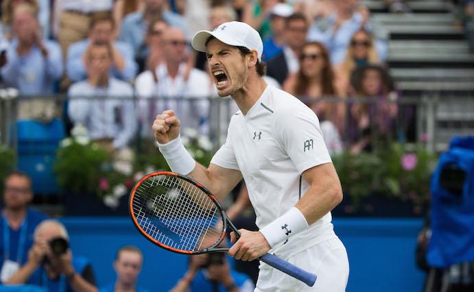Andy Murray gana por quinta vez el torneo de Queens