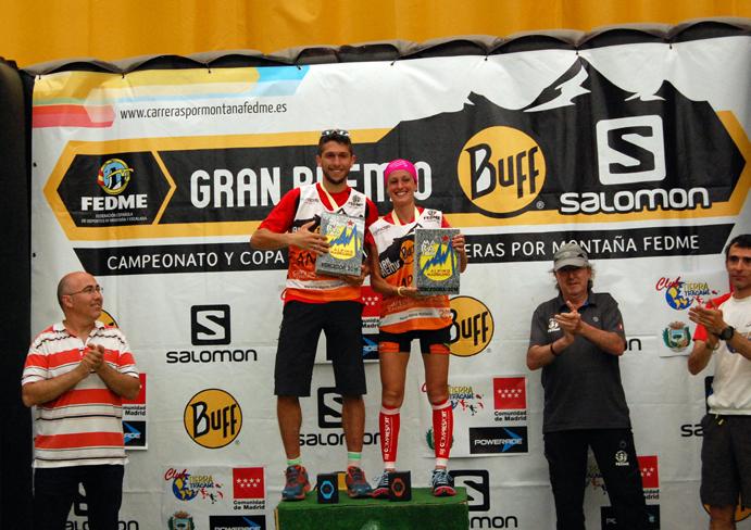 Manuel Merillas y Azara García, campeones de Carreras por Montaña en Línea