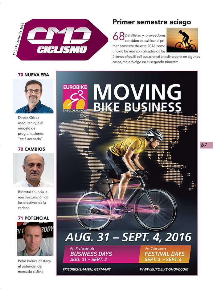 Primer semestre aciago para detallistas y proveedores de ciclismo