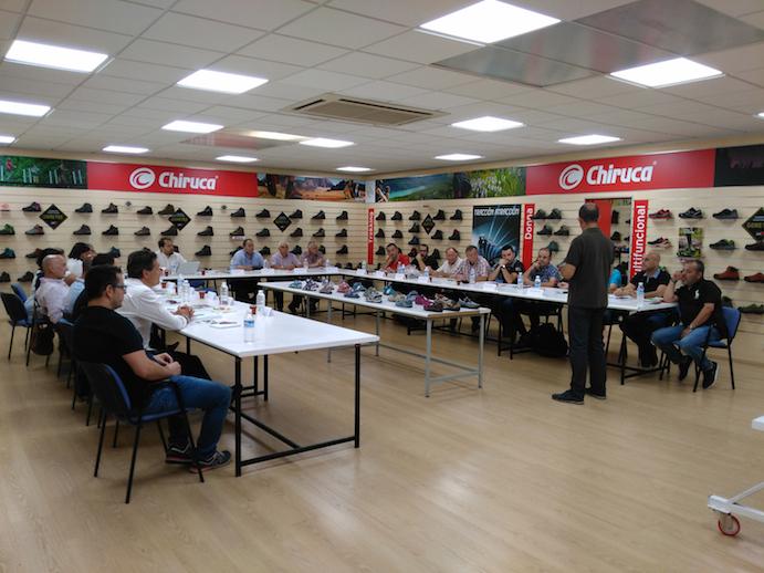 Chiruca presenta sus novedades para 2017 a su red comercial
