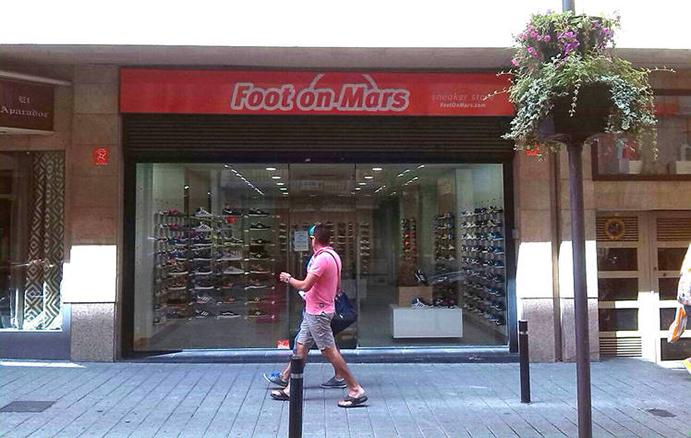 Foot on Mars culminará el verano con veinte tiendas