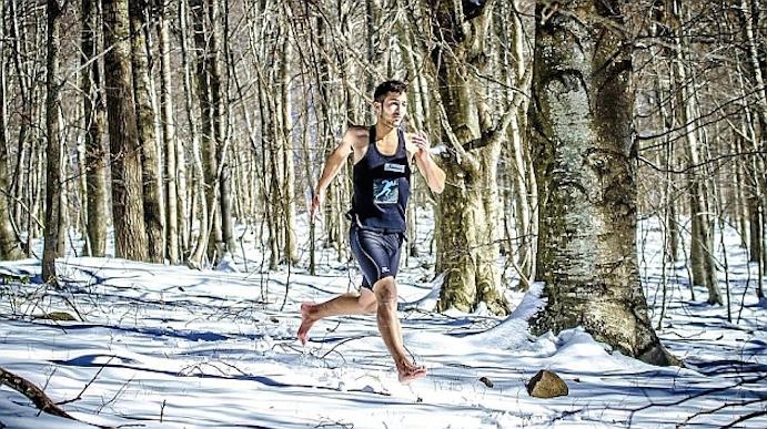 """Karim El Hayani: """"soy feliz corriendo descalzo y no corro por dinero"""""""