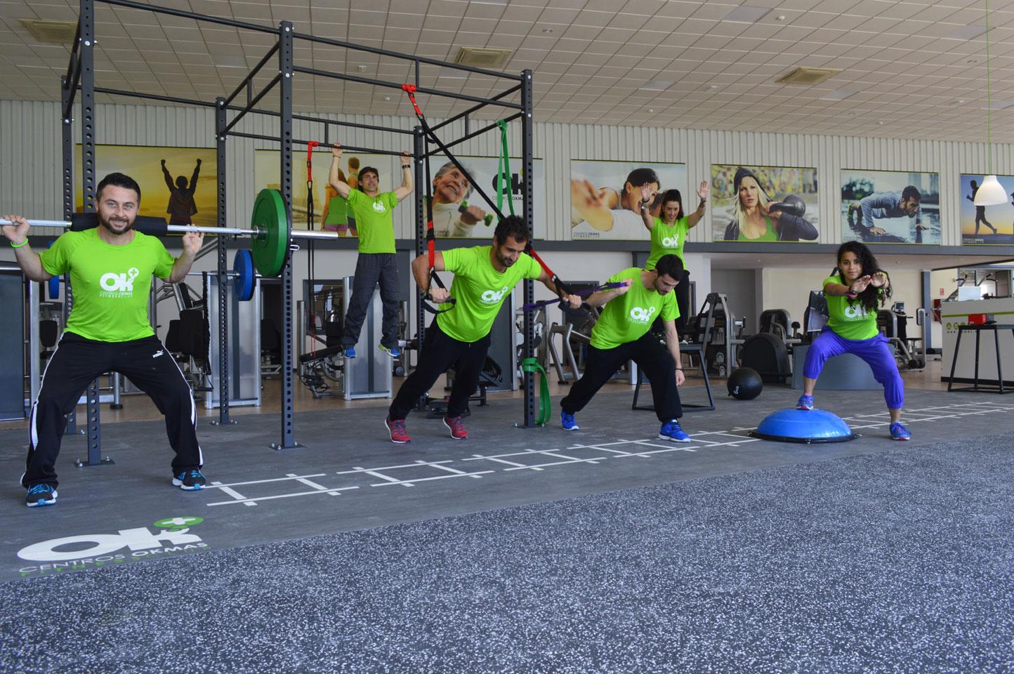 Okmas la propuesta flexible de gimnasios en andalucia for Gimnasio fitness las rosas