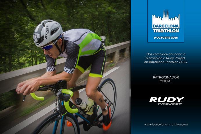 Rudy Project firma como patrocinador del Barcelona Triathlon