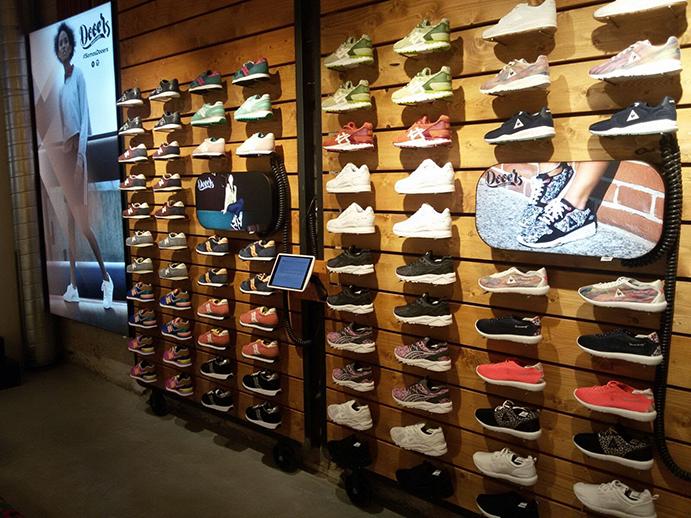 Prosigue la expansión de las principales cadenas de sneakers en España