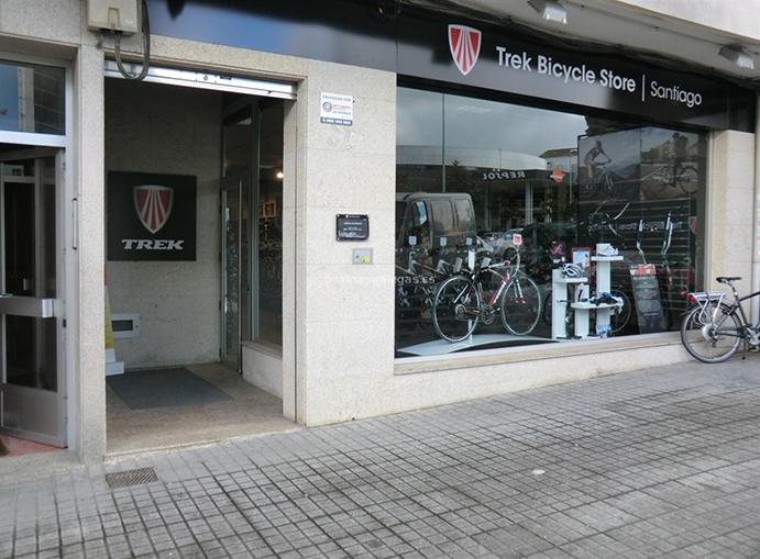 Leve caída de facturación de las Trek Stores gallegas