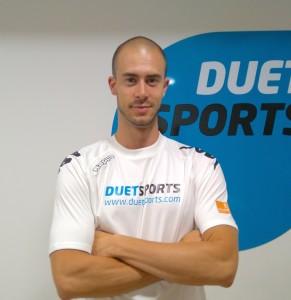 Adrián Yestes técnico Duet Sports Esplugues