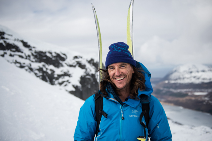 Greg Hill se estrena en la Gore-Tex Transalpine Run atravesando un glaciar