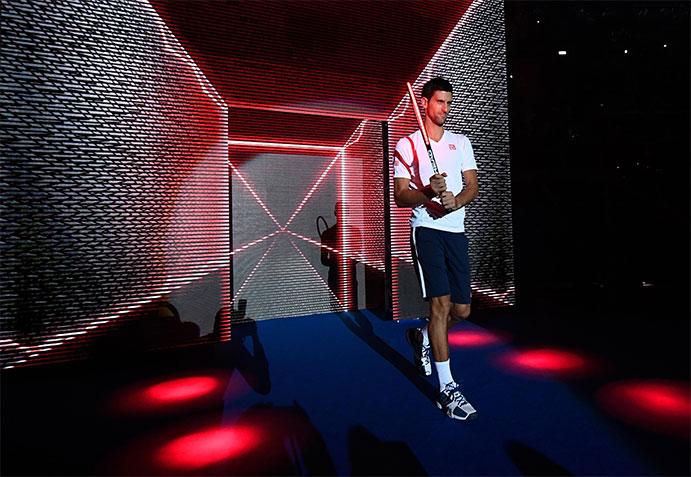 Head y Djokovic presentan las nuevas raquetas Speed