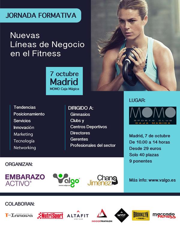 Madrid acoge la Jornada formativa Nuevas Líneas Negocio en Fitness