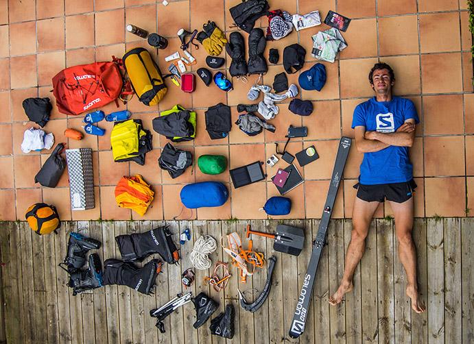 Kilian Jornet se equipa con Salomon para su nuevo desafío en el Everest