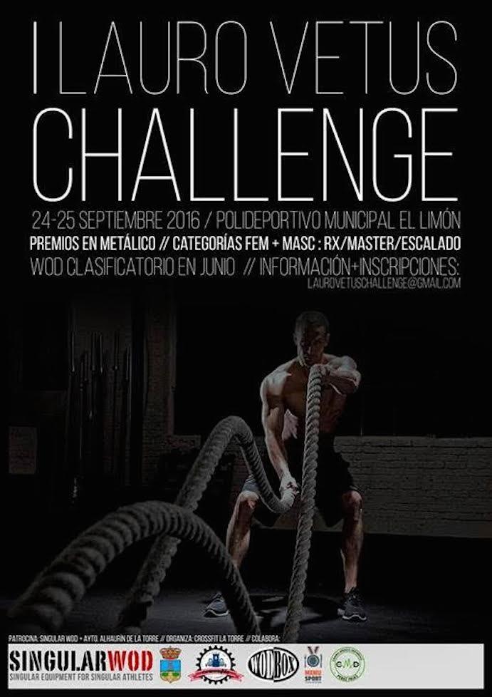 Llega la I Lauro vetus Challenge Alhaurín de la Torre de CrossFit